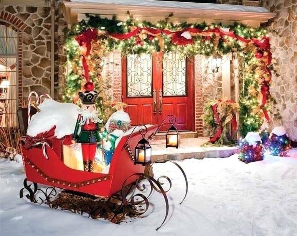 50 Best Outdoor Santa Sleigh Ideas On Foter