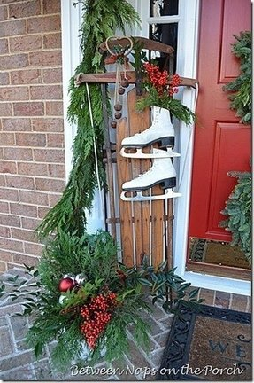 Outdoor Sleigh Decoration Ideas On Foter