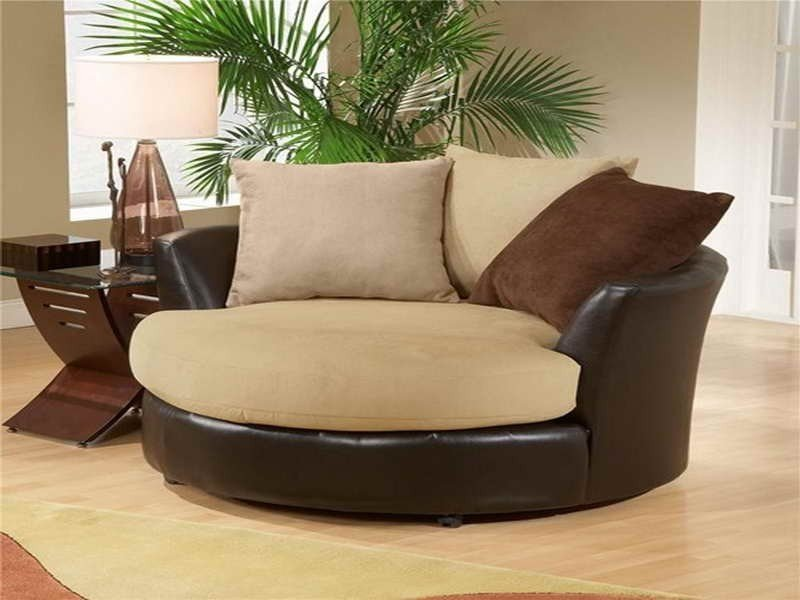 Exceptionnel Oversized Round Swivel Chairs For Living Room Of Artistic Chair