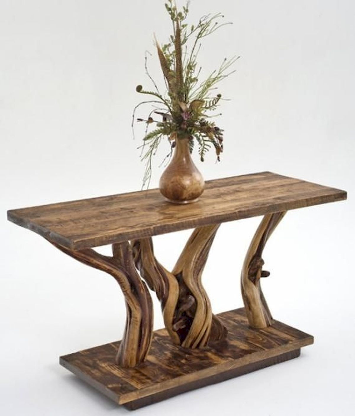 Pedestal Console Table 2