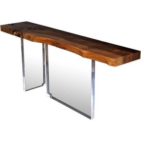 Pedestal Console Table Foter