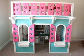 Twin Size Princess Canopy Bed