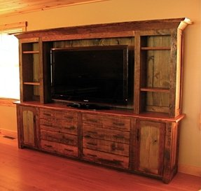 Projection tv stand 9