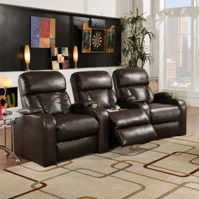 Recliner theater seating