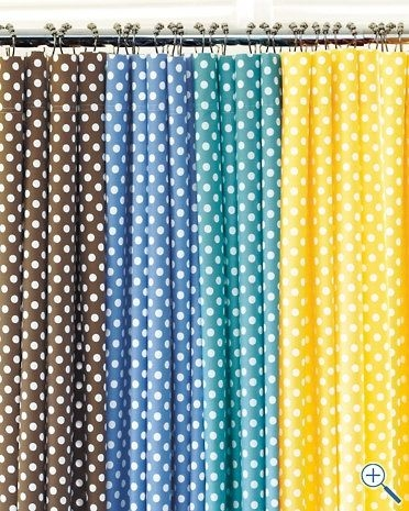 Polka Dot Shower Curtains - Foter