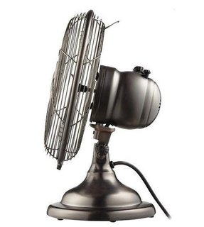 Retro oscillating fan 12