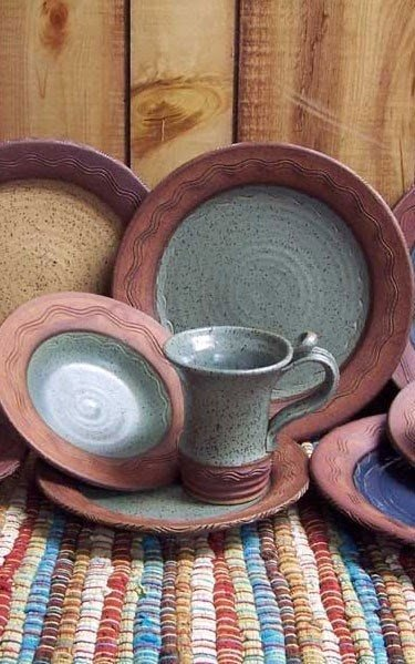 Rustic stoneware dinnerware & Rustic Stoneware Dinnerware - Foter