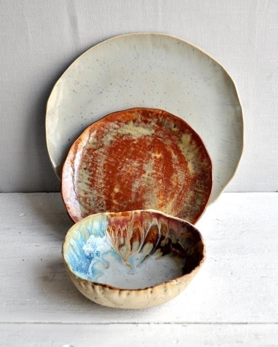 Rustic Stoneware Dishes