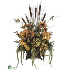 Silk Sunflower Arrangements Ideas On Foter
