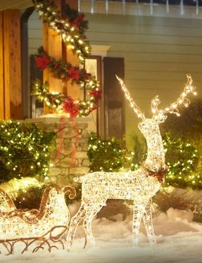 sleigh decoration