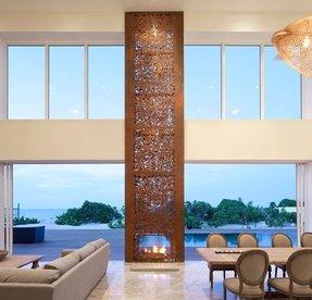 Steel Outdoor Fireplace - Foter