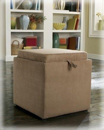 Storage Stool Cube