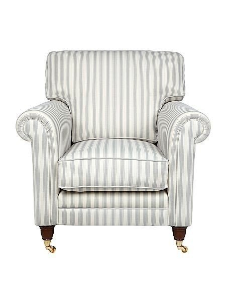 Striped Living Room Chairs