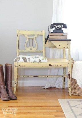 Wood Telephone Table Ideas On Foter