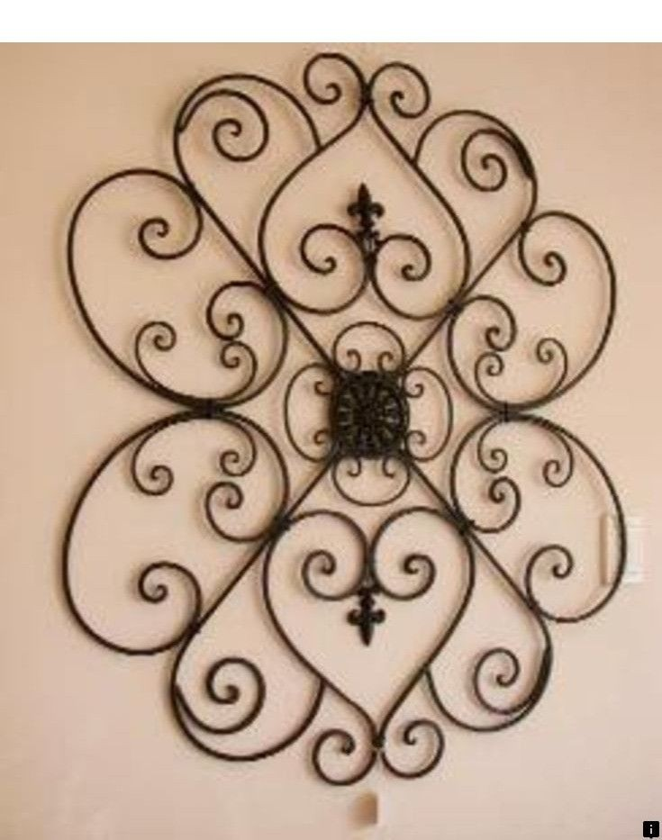 White Metal Wall Art Foter