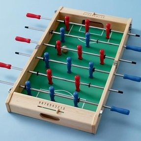 Wooden foosball table 3