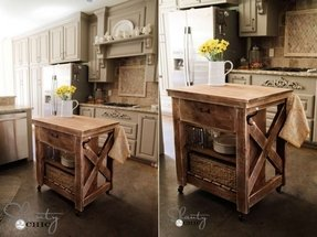 Antique Butcher Block Islands