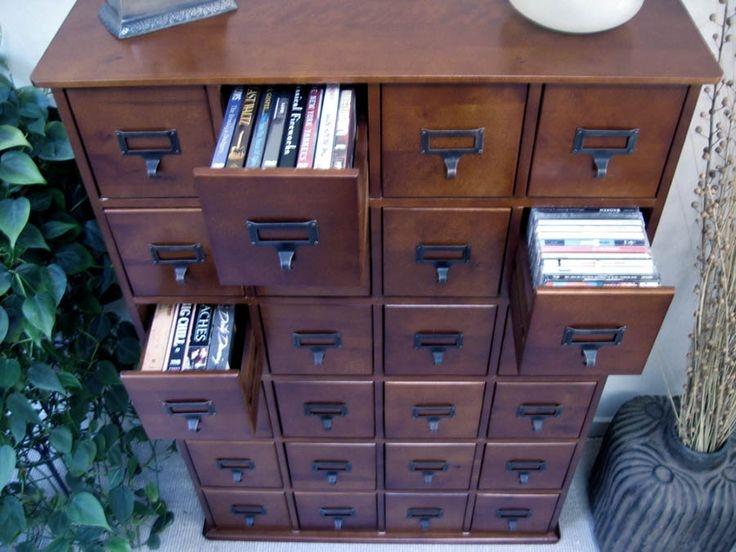 Apothecary Cd Storage 12