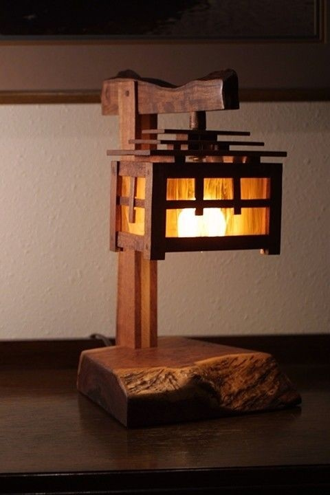 Asian Inspired Lamps
