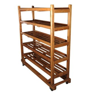 Bakers rack wood
