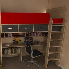 Bunk Bed Computer Desk Ideas On Foter
