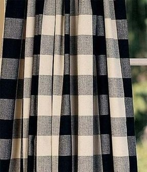 Black and white plaid curtains 16