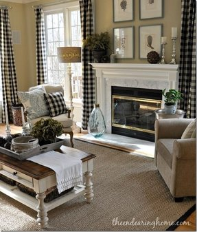 Black And White Plaid Curtains Foter