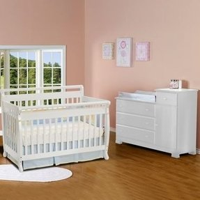 Davinci Kalani 4 In 1 Convertible Crib And Changer Combo - Foter