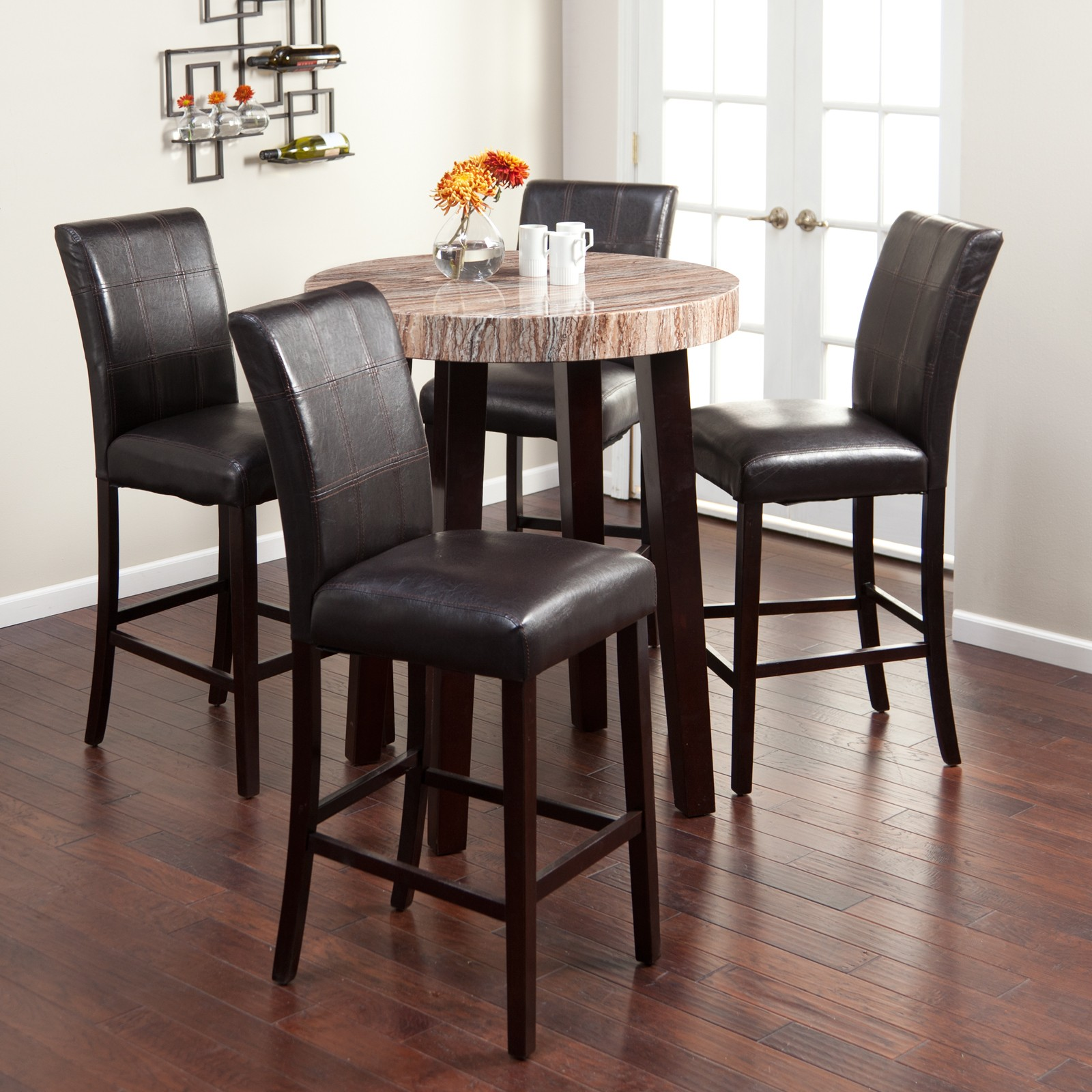 Charmant Black High Top Kitchen Table