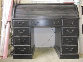 Black roll top desk 4