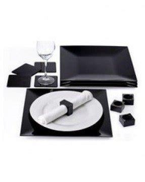 Black square charger plates 3  sc 1 st  Foter & Black Square Charger Plates - Foter