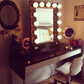 black vanity desk with mirror. Black Vanity Desk With Mirror Vanity Desk With Mirror  Foter