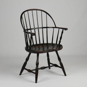Black Windsor Arm Chair - Foter