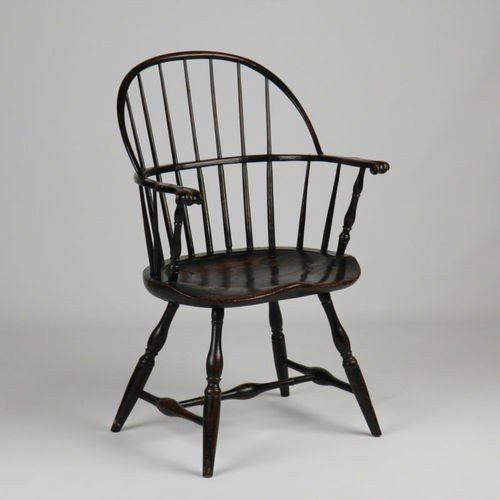 Black Windsor Arm Chair 6