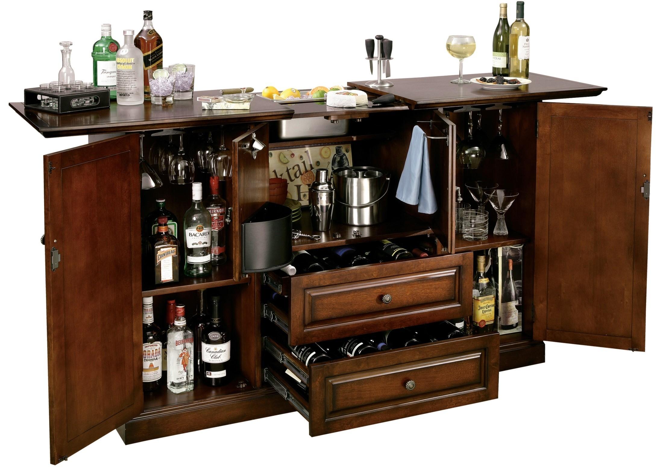 Beau Booze Cabinet