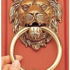 Br Lion Door Knocker Horse And Photos