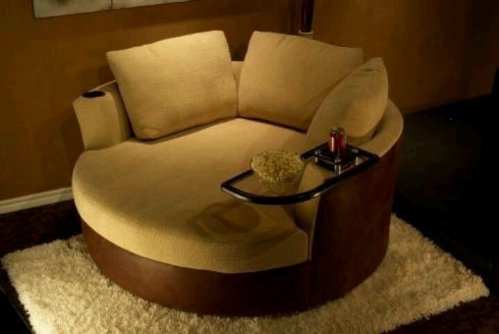 Circle loveseat