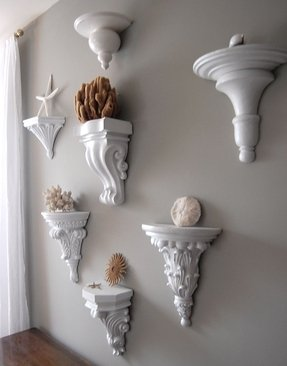 Corbel wall shelf 2