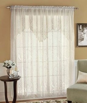 Curtains with valances attached 21
