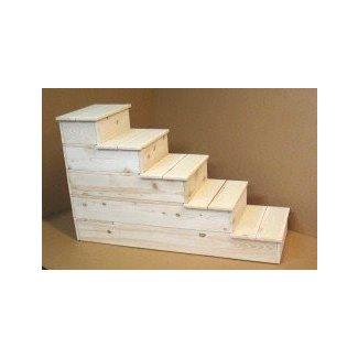 wood dog steps foter