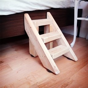 Wood Dog Steps Foter