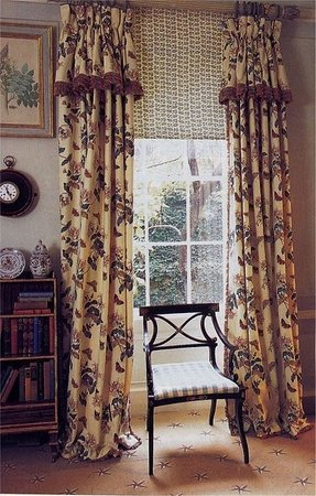 Drapes with attached valance 6