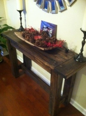 Farmhouse Console Table Foter