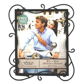 Fetco Home Décor Austin Picture Frame, Tuscan, 8 by 10-Inch, Tuscan Bronze
