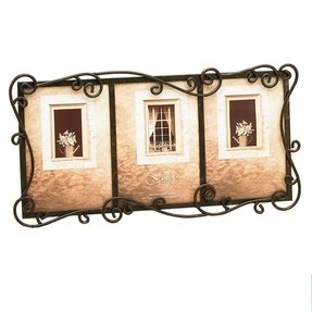 Fetco home decor tuscan austin triple picture frame