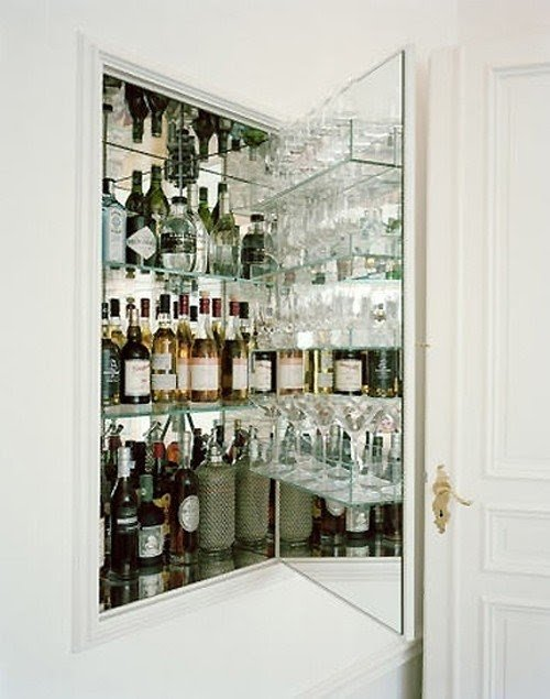 Bon Free Standing Liquor Cabinet