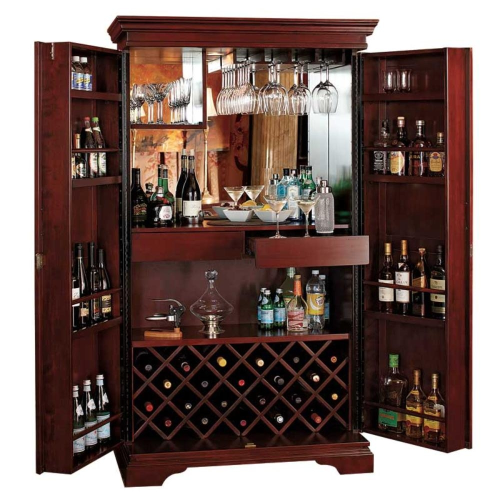 Hide A Bar Liquor Cabinet 2