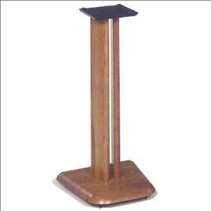 "CUSTOM up to 36/"" Solid Oak Speaker Stands SOLID OAK 1 Home Theatre"
