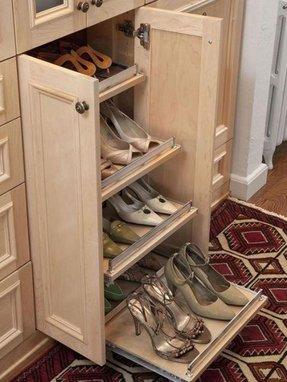 Wooden Vintage Shoe Box Cabinet Rack Hallway Cupboard Furniture Storage WJL5