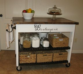 Rolling Kitchen Island Cart Foter